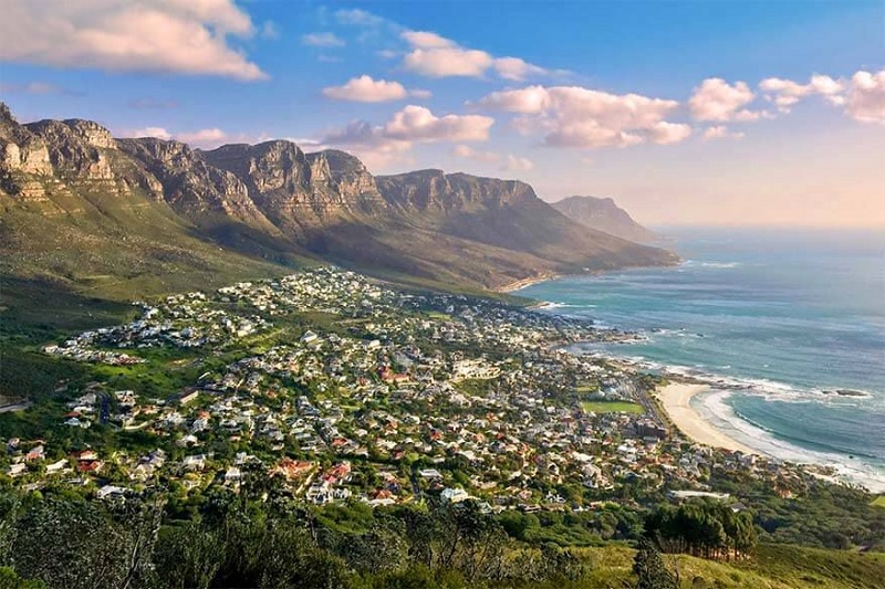 Principais cidades turísticas da África do Sul