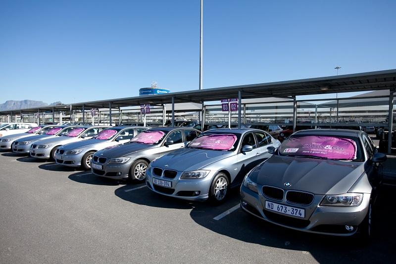 Modelos de carros para alugar em Joanesburgo