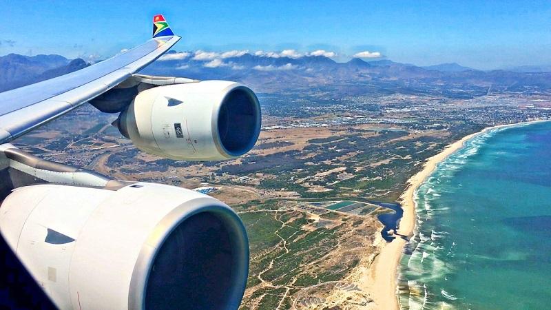Quanto custa uma passagem aérea para a África do Sul