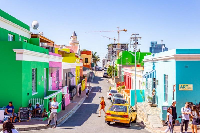 Pontos turísticos na Cidade do Cabo: Bo Kaap