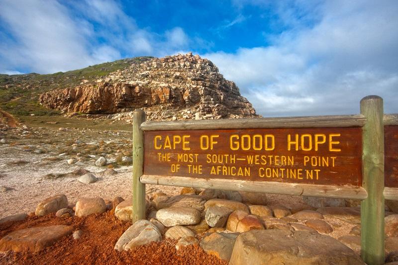 Pontos turísticos na Cidade do Cabo: Cabo da Boa Esperança