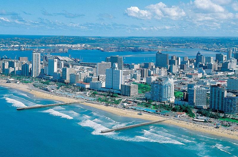 Durban na África do Sul