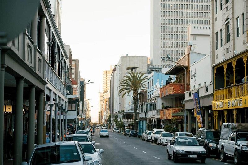 Compras na Long Street na Cidade do Cabo