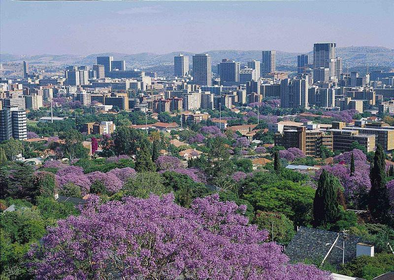 Pretória na África do Sul