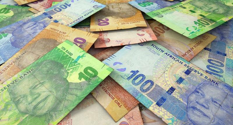 Rand em Joanesburgo