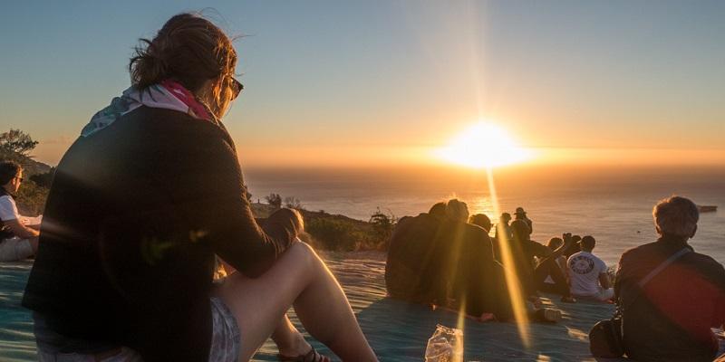 Pontos turísticos na Cidade do Cabo: Signal Hill