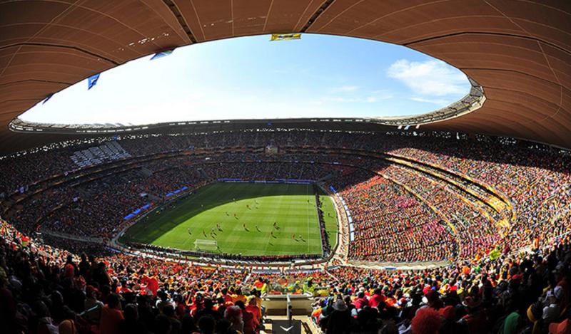 Estádio Soccer City em Joanesburgo