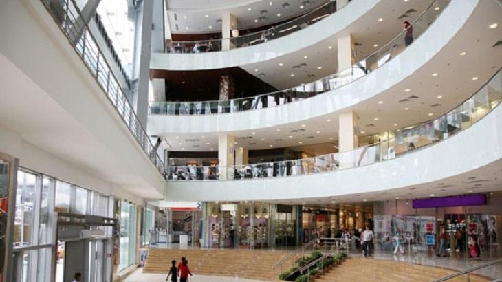 Compras no The Mall of Rosebank em Johanesburgo