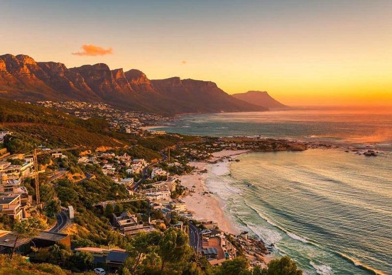 Verão na África do Sul