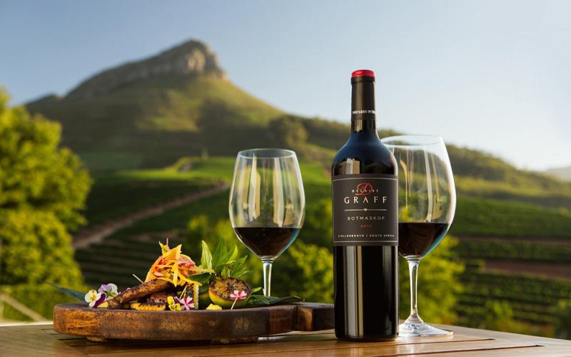 Pontos turísticos na Cidade do Cabo: Vinícolas de Stellenbosch