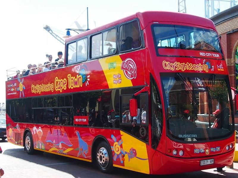 Ingresso para o passeio de Hop on Hop Off na Cidade do Cabo