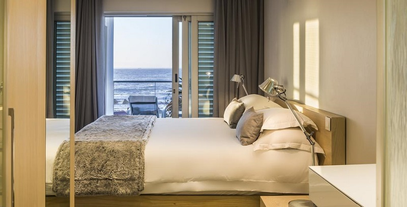Quarto do South Beach Camps Bay Boutique Hotel na Cidade do Cabo